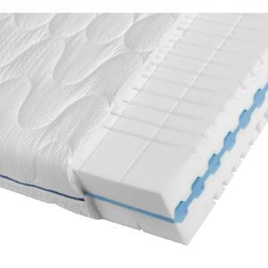 Dieter Knoll Kaltschaummatratze polar 3d pure 2.0 100/200 cm , Polar 3D Pure 2.0 , Weiß , Textil , H2=mittel bis ca.80kg , 100x200 cm , Doppeltuch , Härtegradauswahl, Bezug abnehmbar/waschbar, für