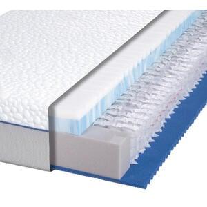 Dieter Knoll Taschenfederkernmatratze polar 3d plus 2.0 90/200 cm , Polar 3D Plus 2.0 , Textil , H3=fest ab ca.80kg , 90x200 cm , Doppeltuch , Härtegradauswahl, Bezug abnehmbar/waschbar, für verste
