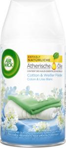 AirWick Lufterfrischer Freshmatic Cotton & Weißer Flieder Nachfüller