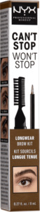 NYX PROFESSIONAL MAKEUP Augenbrauenstift Can't Stop Won't Stop Longwear Brow Ink Kit Chocolat 04