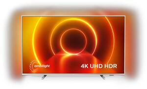 "65PUS7855/12 164 cm (65"") LCD-TV mit LED-Technik hellsilber / A+"