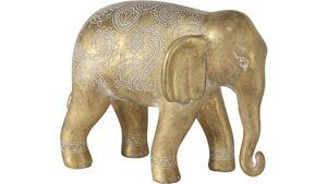 Boltze Figur Ethno-Elefant 20cm