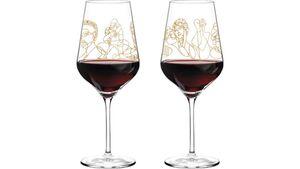 RITZENHOFF Rotweinglas von Burkhard Neie - 2er Set