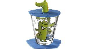 LEONARDO Kindertrinkset Bambini Krokodil 3-teilig