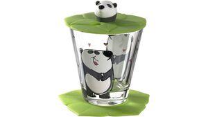 LEONARDO Kindertrinkset Bambini Panda 3-teilig