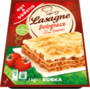 Gut & Günstig Lasagne Bolognese