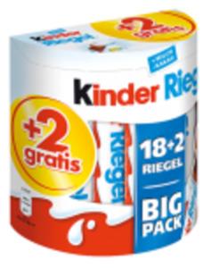 Ferrero Kinder Country, Duplo oder Kinder Riegel