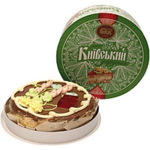 "Torte ""Kievskij"" mit Erdnüssen, tiefgefroren"
