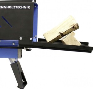Güde Holzspalter GHS 370/4TE ,  Farbe: blau/schwarz L x B x H: 1.172 x 527 x 640 mm