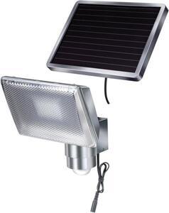 Brennenstuhl SOL 80 1170840 Solar-Spot mit Bewegungsmelder 4W Silber-Grau