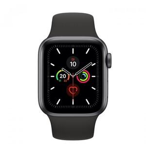 Apple Watch Series 5 GPS schwarz ,  44 mm, spacegrau/schwarz
