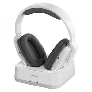 Thomson Funkkopfhörer WHP3331 ,  Over Ear, weiß