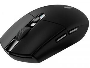 Logitech Maus G305 ,  kabellos, USB-Anschluss, schwarz