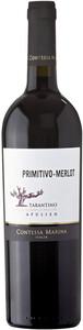 Contessa Marina Primitivo-Merlot Rotwein 2019 0,75 ltr