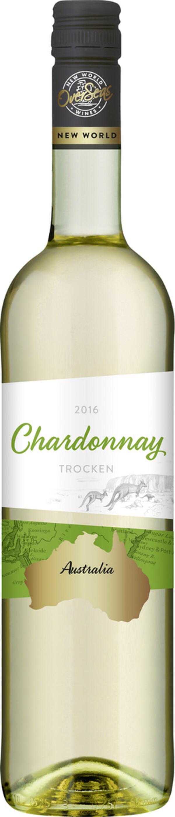 OverSeas Australien Chardonnay Weißwein 2019 0,75 ltr