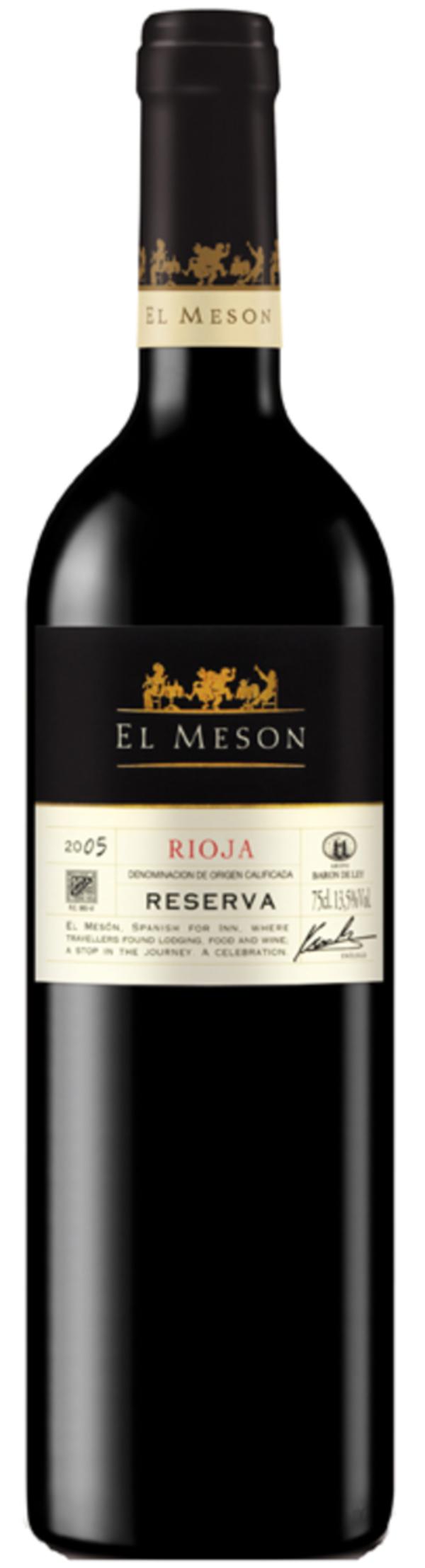 El Meson Rioja Reserva Tempranillo Rotwein 2015 0,75 ltr