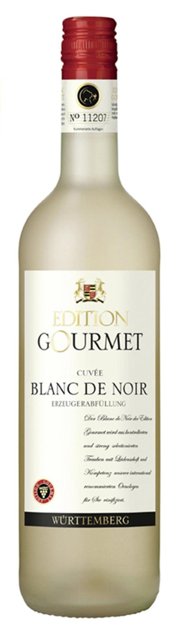 WZG Edition Gourmet Blanc de Noir 2018 0,75 ltr