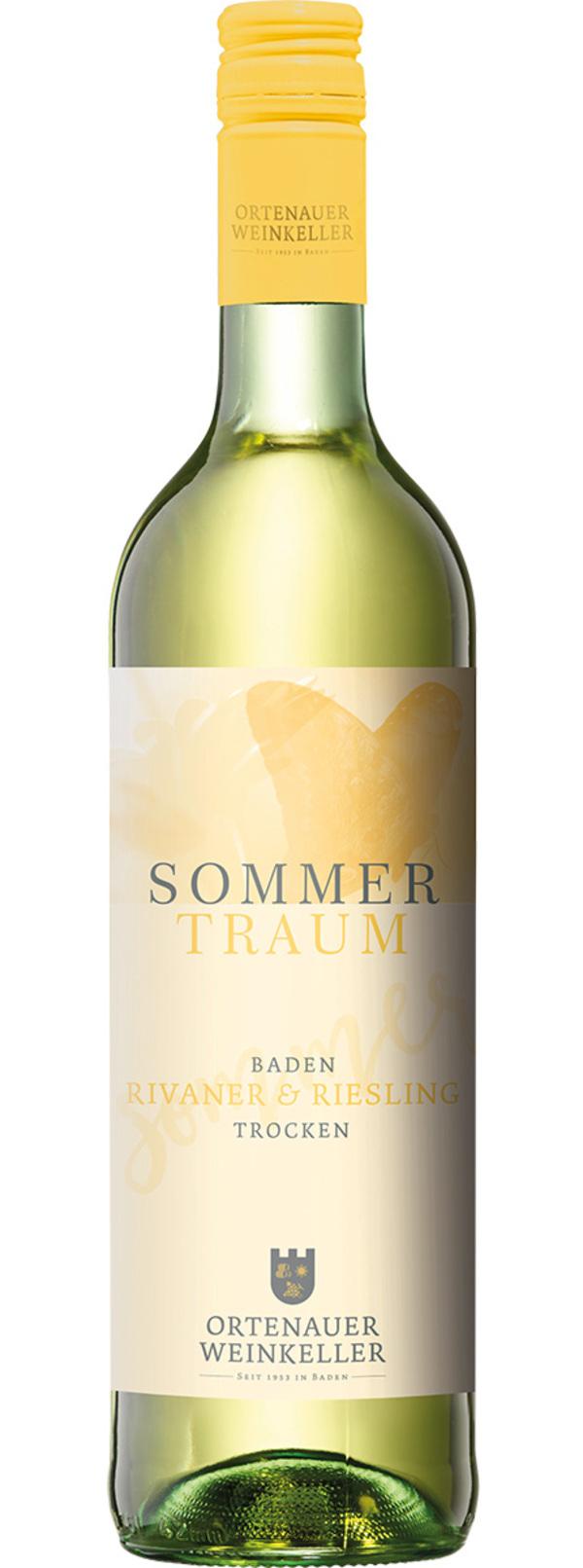 Ortenauer Weinkellerei Sommertraum Baden Rivaner & Riesling trocken 2019 0,75 ltr