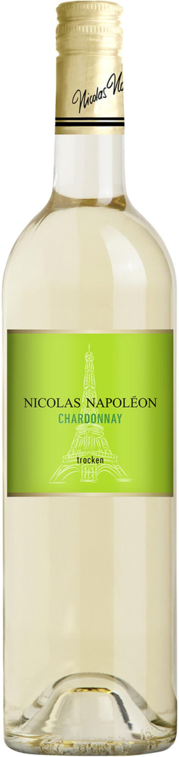 Nicolas Napoléon Chardonnay trocken 2018 0,75L