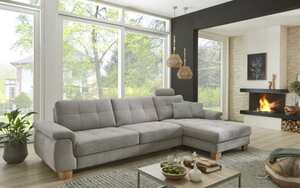 MCA furniture - Wohnlandschaft PP-LA19101 in alu, inklusive Funktionen