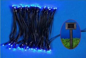 """TrendLine LED-Solar-Lichterkette """"mit 50 LED blau, für den Innen- und Außenbereich"""""""