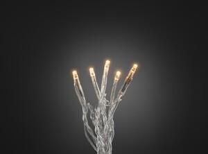 """Konstsmide LED Microlichterkette """"50 LED, bernstein"""""""