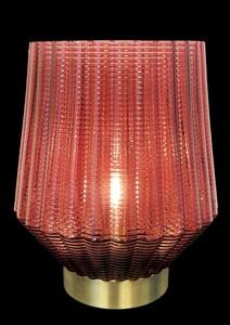"""TrendLine LED Dekoleuchte """"rot-gold"""""""