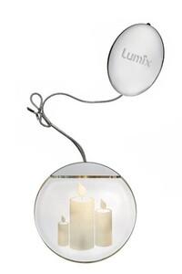 """Krinner Lumix LED Deko Light """"Kerzen, LED, Ø 10 cm"""""""