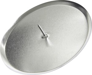 """Kaemingk Metall-Adventskerzenhalter """"Ø 6 cm, silber"""""""