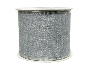 """Kaemingk Band Glitter """"silber,270 x 6.3 cm"""""""