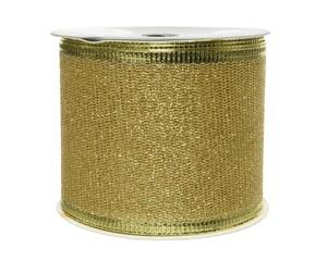 "Kaemingk Band Glitter ""hellgold, 270 x 6.3 cm"""