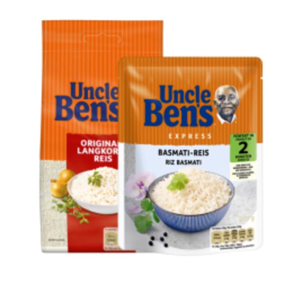 Uncle Ben's Reis oder Saucen zum Reis