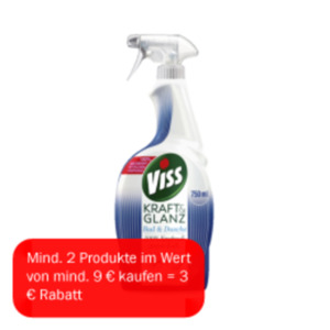 Viss Kraft & Glanz Bad & Duschreiniger