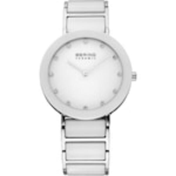 Bering Produkte Weiß/ Silber Uhr 1.0 st