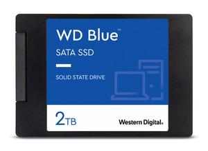 WD Blue™ 3D NAND SATA, 2 TB SSD, 2.5 Zoll, intern