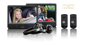 LENCO DVP-1045 Tragbarer DVD-Player, Schwarz