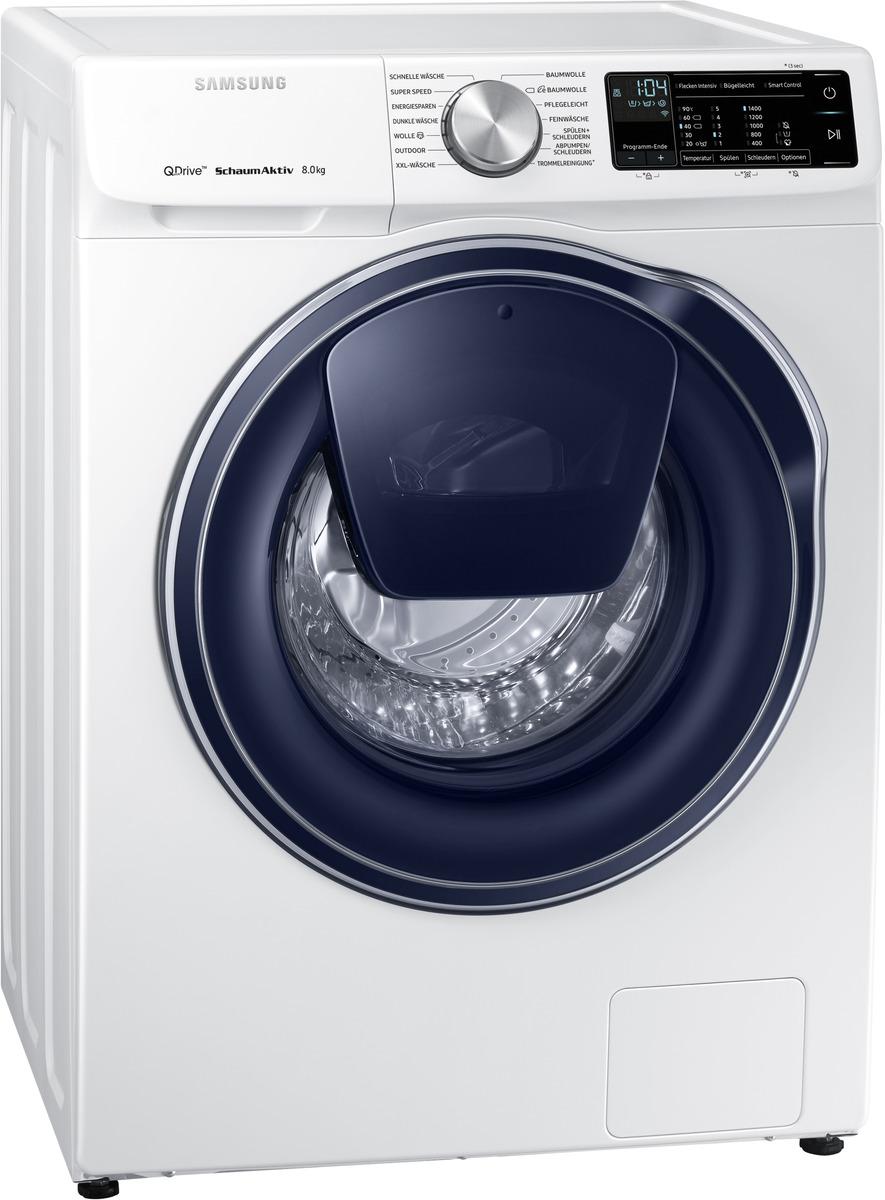 Bild 1 von SAMSUNG WW81M642OPW/EG QuickDrive Waschmaschine (8 kg, 1400 U/Min., A+++)