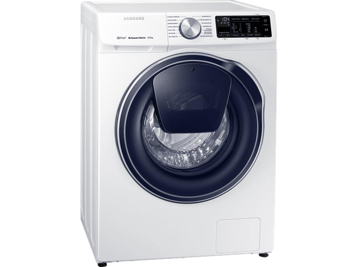 Bild 2 von SAMSUNG WW81M642OPW/EG QuickDrive Waschmaschine (8 kg, 1400 U/Min., A+++)