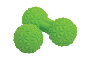 SCHILDKRÖT Fitness Duo Set Massageball, Grün