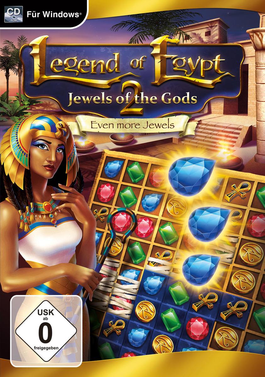 Bild 1 von Legend of Egypt: Jewels of the Gods 2 - Even more Jewels für PC online