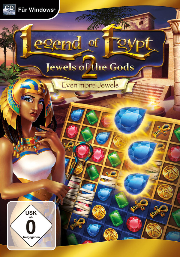 Legend of Egypt: Jewels of the Gods 2 - Even more Jewels für PC online