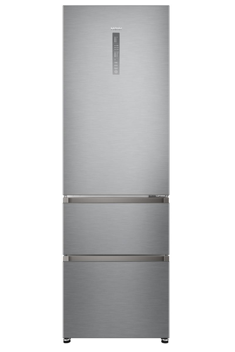 Bild 1 von HAIER HTR5619ENMG Kühlgefrierkombination in Silber