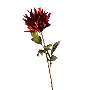 Stielblume Dahlie, L:75cm, bordeaux