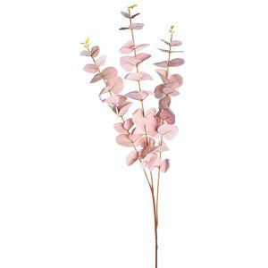 Zweig Eukalyptus, L:100cm, rosa