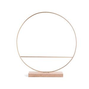 Metallring auf Base, D:35cm, gold