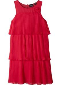 Festliches Mädchen Kleid mit Volants