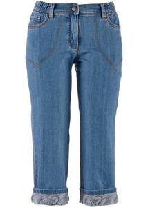 7/8-Stretch-Jeans mit Bequembund