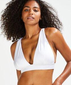 Hunkemöller Triangel-Bikini-Oberteil Lola Weiß