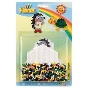 Hama-Bügelperlen: Midi 1100 Perlen Blister, sortiert