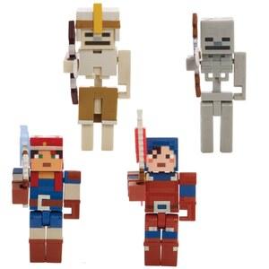 Minecraft Dungeons Actionfiguren 4er Pack